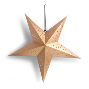 12942 - SENZA 3D Star Gold